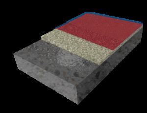 Кварцнаполненное полимерное покрытие