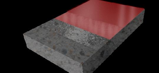 Тонкослойное покрытие со шпаклевкой